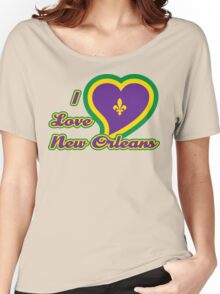 I Love New Orleans Women's Relaxed Fit T-Shirt