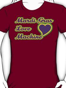 "Mardi Gras ""Love Machine"" T-Shirt"