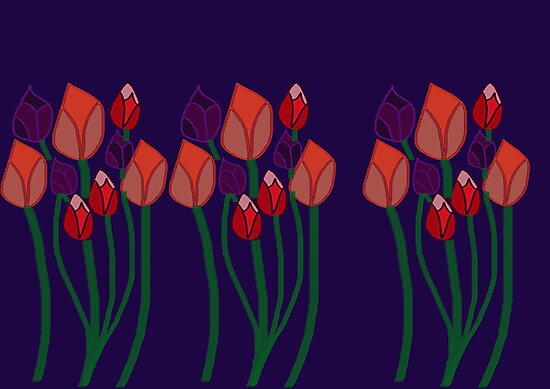 Tulips by FreedomMuse