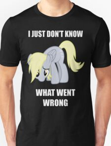 Derpy Doesn't Know What Went Wrong Unisex T-Shirt