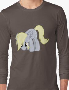 Derpy Doesn't Know What Went Wrong without text Long Sleeve T-Shirt