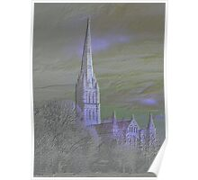 Salisbury Cathedral - Wiltshire, England Poster