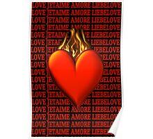 ¸¸.♥➷♥•*¨BURNING LOVE VALENTINE¸¸.♥➷♥•*¨ Poster