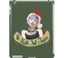 Namjoon Xmas Jams iPad Case/Skin