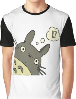 Totoro ask Graphic T-Shirt
