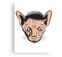 Hairless Cat Denial Canvas Print