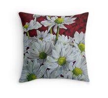 Dance of the Dasies Throw Pillow