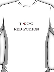 I Heart Red Potion T-Shirt