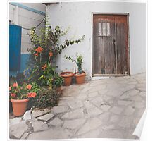 white washed samos Poster