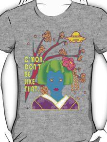 Geisha UFO T-Shirt