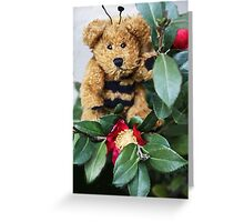 Bumble Bear Greeting Card