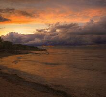 Sunset, Fury And Solitude On Georgian Bay - Part 1 © by © Hany G. Jadaa © Prince John Photography