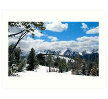 Wallowa Mountains and Eagle Cap Wilderness  Art Print