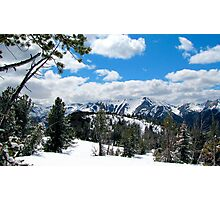 Wallowa Mountains and Eagle Cap Wilderness  Photographic Print