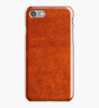 Red grunge background iPhone Case/Skin