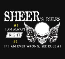 SHEER  Rule #1 i am always right. #2 If i am ever wrong see rule #1 - T Shirt, Hoodie, Hoodies, Year, Birthday by oaoatm