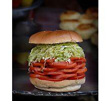 Salad Roll Photographic Print