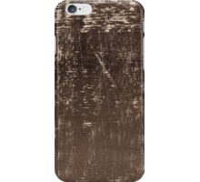 Wrinkle surface of brown Velvet iPhone Case/Skin