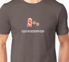 Mario Drop It Like It's Hot Unisex T-Shirt