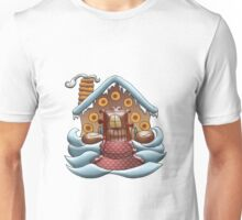Joy is a Gingerbread Donut House Unisex T-Shirt