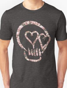 5sos Skull flowers Unisex T-Shirt