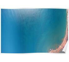 Kimberley Aerial Images - Gantheaume Point, Broome Poster