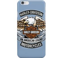 Harley Davidson: An American Legend iPhone Case/Skin