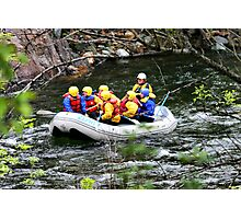 Rafting the Merced Photographic Print