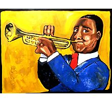 Louis Armstrong Photographic Print