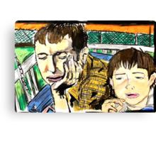 Patrick and Pat Canvas Print