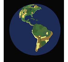 Planet Earth Digital Art Photographic Print