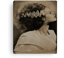 The Monster's Bride Canvas Print