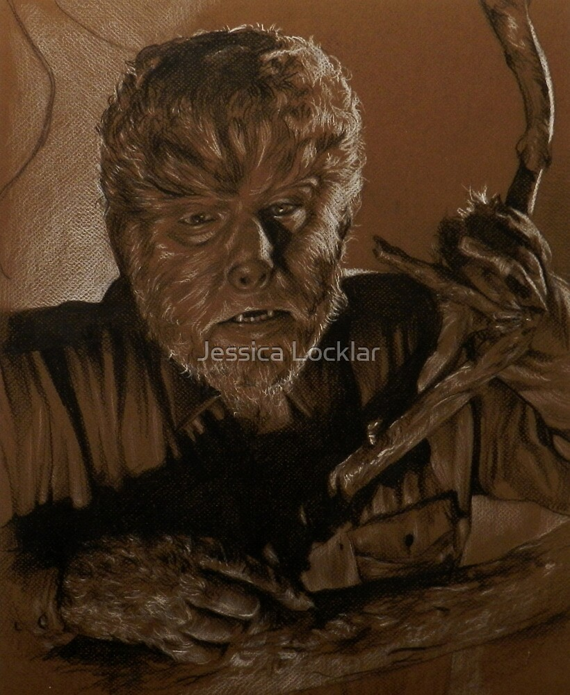 The Wolf Man by SepiaDreamscape
