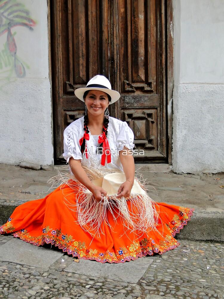 Panama Hat Maker by Al Bourassa
