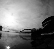 Big Mac Bridge by Kent Nickell