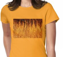 """""""We Didn't Start the Fire"""" Womens Fitted T-Shirt"""