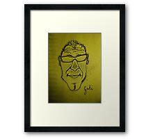 Goti Framed Print
