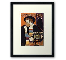 Le Fourth Doctor Framed Print