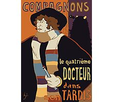 Le Fourth Doctor Photographic Print
