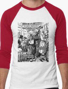 Muirshin Durkin @ Clancy's in Long Beach Featuring Anita & the Yanks Men's Baseball ¾ T-Shirt