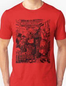 Muirshin Durkin @ Clancy's in Long Beach Featuring Anita & the Yanks T-Shirt