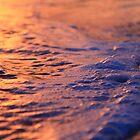 Sunset waves  by Izgab