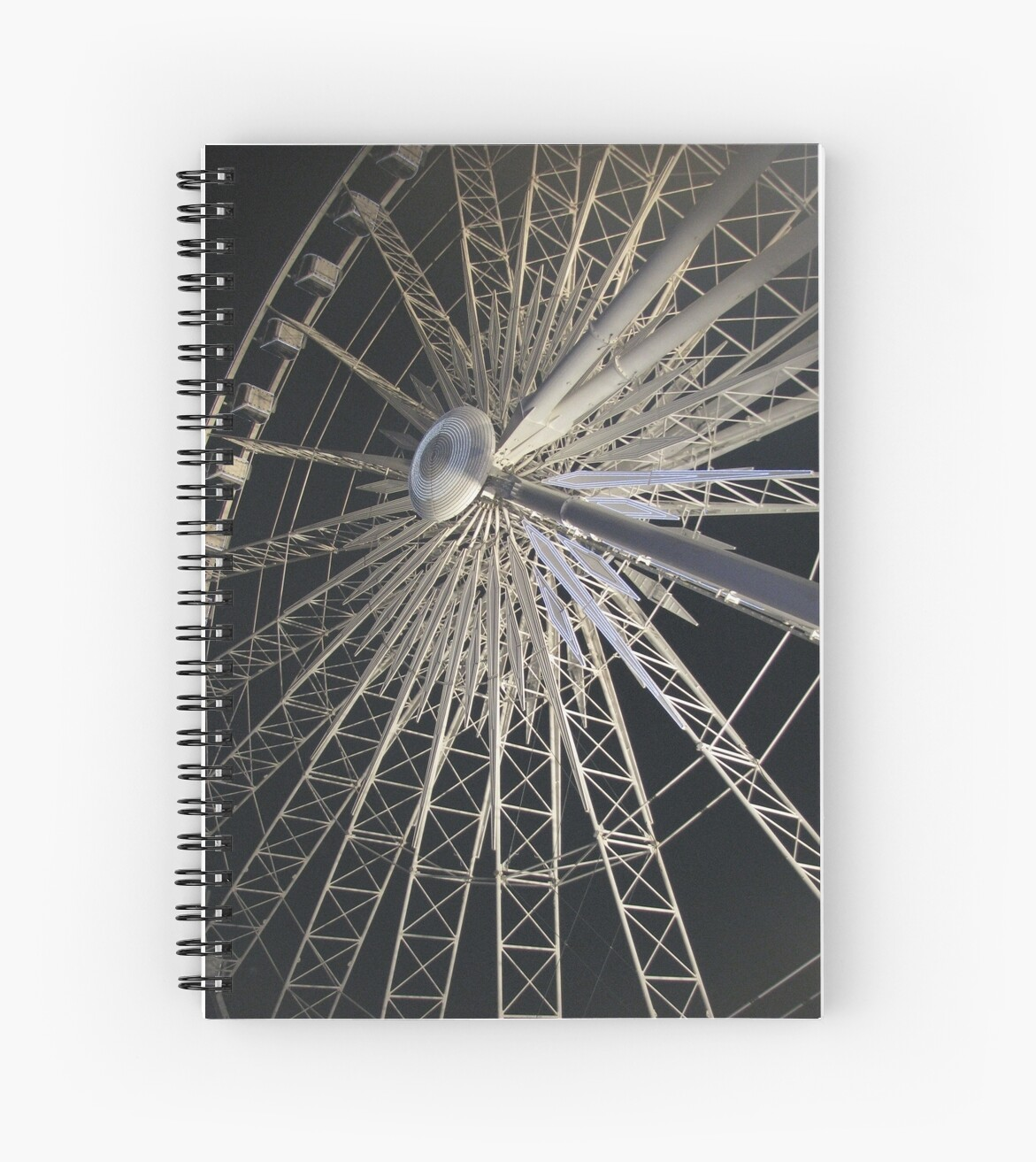 Ferris Wheel-Available As Art Prints-Mugs,Cases,Duvets,T Shirts,Stickers,etc by Robert Burns