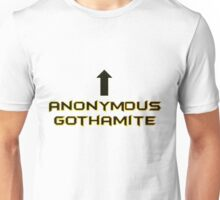 Anonymous Gothamite Unisex T-Shirt