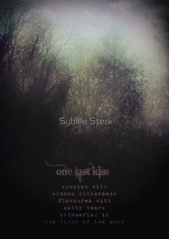 one last kiss by Sybille Sterk