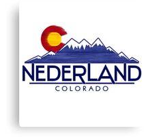 Nederland Colorado wood mountains Canvas Print