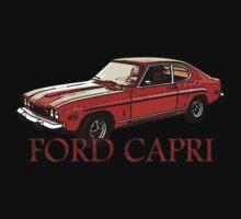 T-shirt FORD CAPRI by Vittorio Magaletti