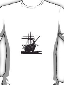 Boston Tea Party Raiders Retro  T-Shirt