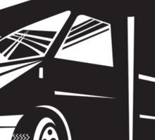 Camper Van Motor Home Retro  Sticker