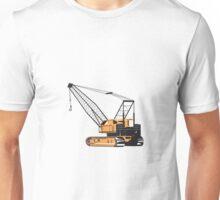 Construction Crane Hoist Retro  Unisex T-Shirt